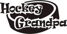 Hockey Grandpa Decals Clings Stickers Hockey Helmet Decals