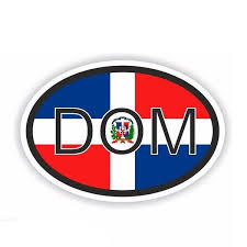 12 5cm 8 2cm Personality Dominican Republic Decal Country Code Car Sticker Accessories Pvc 6 0365 Wish
