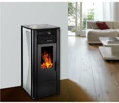 10kw free standing wood pellet stove