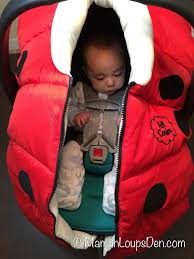 petit coulou car seat cover review