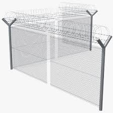 Barbed Wire Fence 3d Models For Download Turbosquid