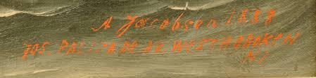 Schooner Ada Bailey by Antonio Jacobsen - Inventory - Hyland Granby