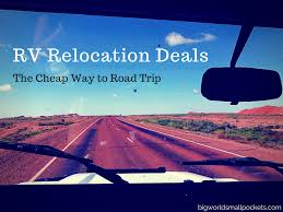 rv relocation deals the way to
