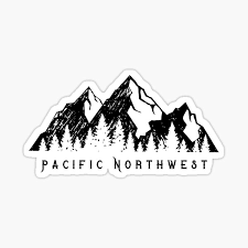 Pacific Northwest Stickers Redbubble