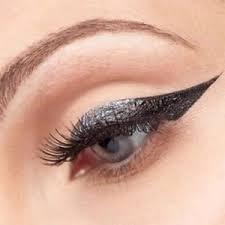 cat eye makeup smokey stencils a la