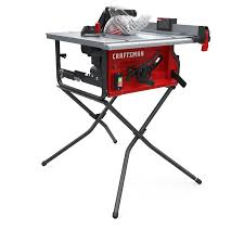 Craftsman 10 In Carbide Tipped Blade 15 Amp Table Saw In The Table Saws Department At Lowes Com