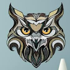 My Wonderful Walls Owl Wall Decal Wayfair