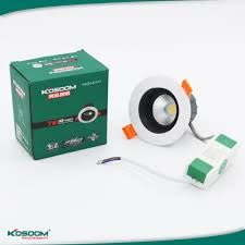 Đèn LED âm trần COB 7W Kosoom DL-KS-COB-7 - KOSOOM Việt Nam