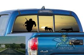 Hunting Perforated Sticker Toyota Tacoma Sun Protection Decals