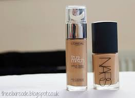 nars sheer glow vs l oreal true match
