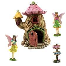 fairy garden house kit miniature