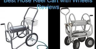 best hose reel cart with wheels tools