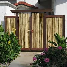 Cali Bamboo Actual 8 Ft X 6 Ft Bamboo Fencing Natural Bamboo Privacy Rolled Fencing In The Rolled Fencing Department At Lowes Com