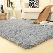 Colorful Solid Rugs Carpet Thicker Bathroom Non Slip Mat Area Rug For Living Room Soft For Child Kids Bedroom Mat Pink White Car Color Grey Carpet Size 60x120cm