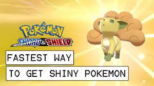 Pokemon Sword & Shield Fastest Way To Get Shiny Pokemon (Masuda ...