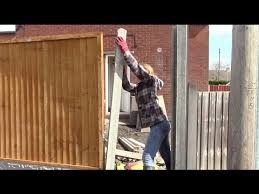 How To Erect Concrete Fencing Youtube