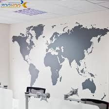 Map Of World Wall Stickers Home Decorations Zooyoo 8278 Diy Removable Vinly Wall Decal Study Room Living Room Wall Decals Decal Art For Walls Decal Decor From Bestdeal 4 53 Dhgate Com