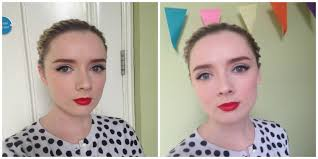 1950 s vine makeup a step by step