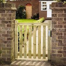 grange small garden pale gate