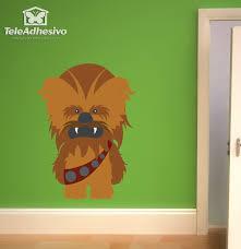 Kids Wall Sticker Chewbacca Muraldecal Com