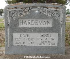 Addie Simmons Hardeman (1880-1963) - Find A Grave Memorial