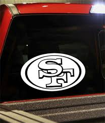 San Francisco 49ers North 49 Decals