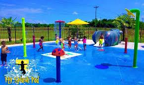 splash pads water parks designed