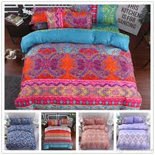 colourful fashion bedding set twin full