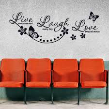 Live Laugh Love Wall Decal Quote Style And Apply