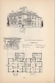 mansion floor plan vintage house plans