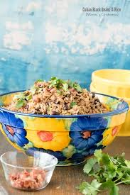 cuban black beans and rice moros y
