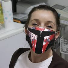 Boba Fett Face Cloth Face Mask ...