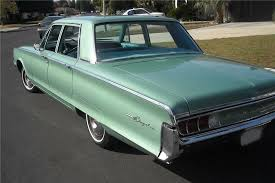 1965 Chrysler Newport 4 Door Sedan