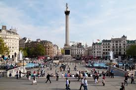Things to do in London with kids: Trafalgar Square - MadeForMums