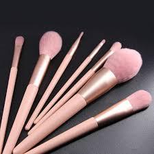 beauty nine romantic pink makeup brush