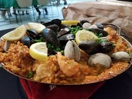 Seafood Paella - Hasty Bake Grill ...