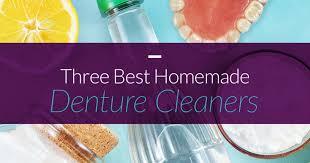 best homemade denture cleaner