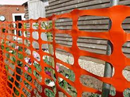Suregreen Barrier Fencing Mesh Orange 90g M 1m X 25m Amazon Co Uk Garden Outdoors