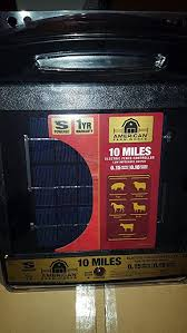 Amazon Com American Farm Works 10 Mile Solar Fence Controller Industrial Scientific