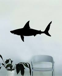 Shark Silhouette Design Animal Decal Sticker Wall Vinyl Decor Art Livi Boop Decals