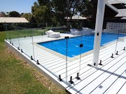 Fg Fencing Frameless Glass Pool Fence With Black Spigots Latch And Hinges Facebook