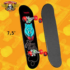 hoopla skateboards Alana Smith Wolf Deck