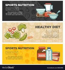 healthy t nutrition vector image