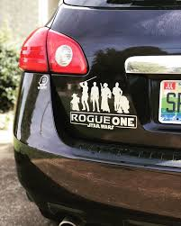 Rogue One Decal Nissan Rogue Star Wars Vinyl Decal Etsy