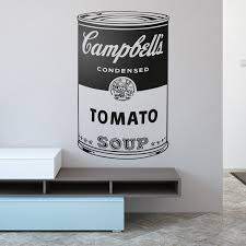 Andy Warhol Campbell S Soup Cans Muraldecal Com