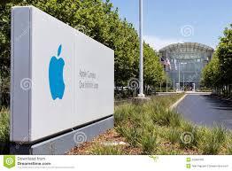 Apple Campus One Infinite Loop Editorial Photo - Image of steve, sign:  55084406