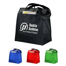 nonwoven insulated lunch cooler tote