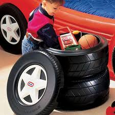 Little Tikes Classic Racing Tire Toy Chest Reversible Lid Storage For Kids 50743640414 Ebay