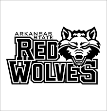 Arkansas State Red Wolves Decal North 49 Decals