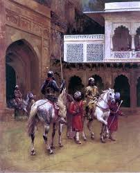 Edwin Lord Weeks Indian Prince Palace Of Agra Wall Decal Traditional Wall Decals By Art Megamart